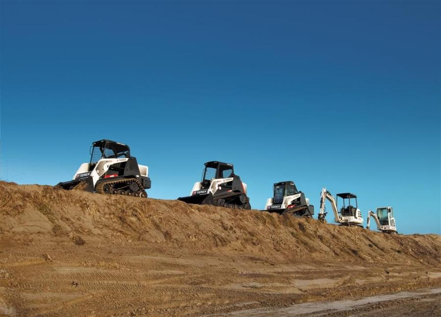 Tractor Service now offers the full line of Terex compact construction equipment, including skid steers, compact track loaders, wheel loaders, excavators and loader backhoes, to professional contractors in New Mexico.