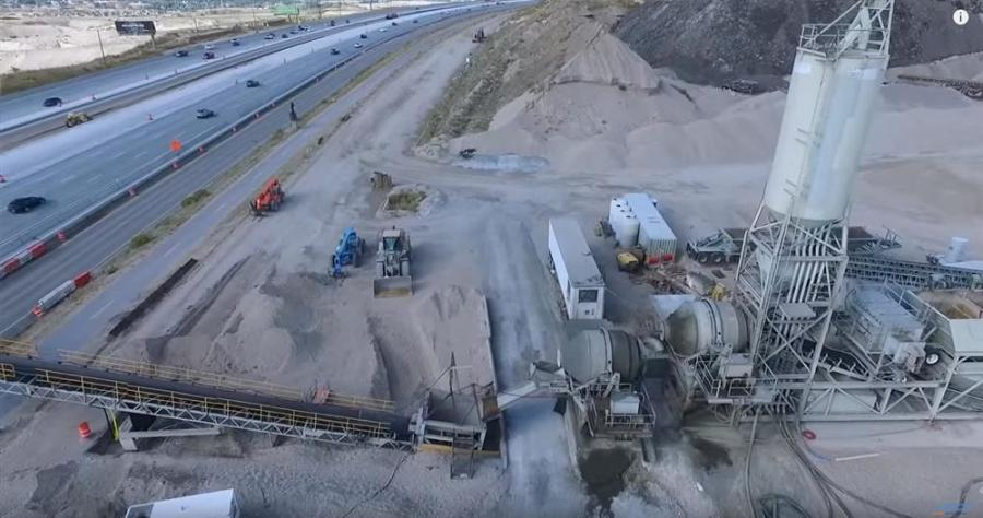 """The conveyor belt can basically take construction traffic out of the work zone, or out of the general purpose traffic lane, so they can dump concrete right in the work zone,"" said Tim Rose, project director."
