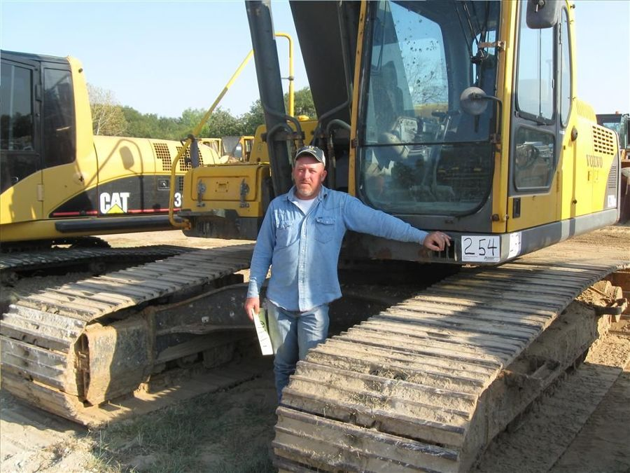 Chris Neal of N&N Construction, Canton, Texas, might be putting this Volvo 290B LR excavator to use very soon.
