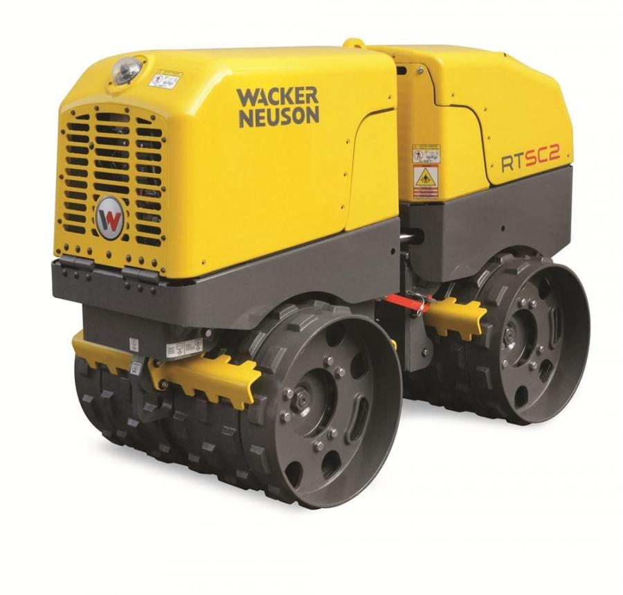 Wacker Neuson's trench rollers are designed with a best-in-class maintenance-free lower end that saves time, money and increases the units' uptime, according to the company.