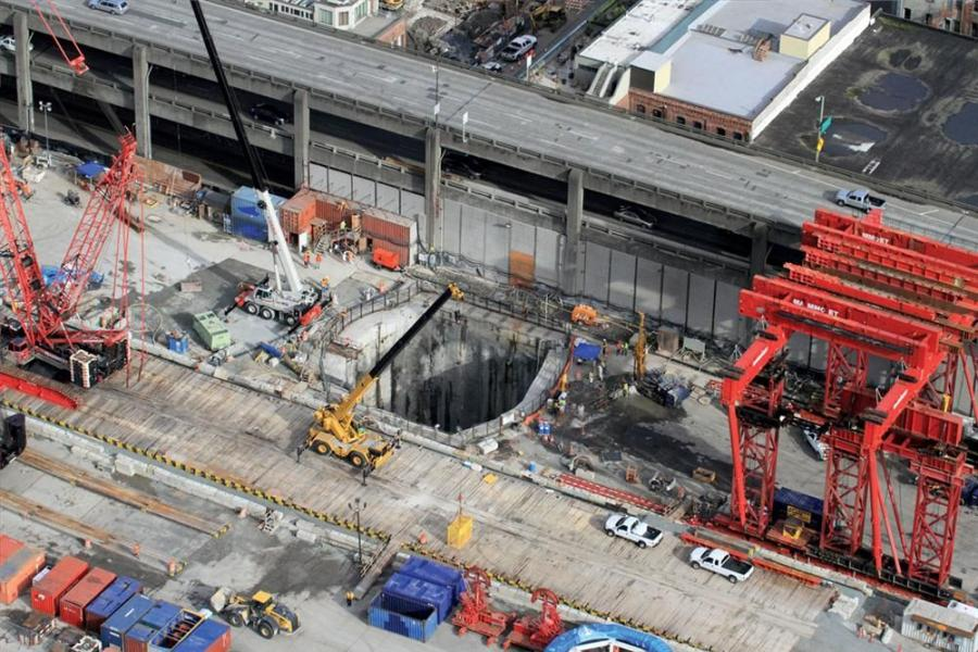 Building a two-mile tunnel under Seattle was the project of choice to replace the Alaskan Way Viaduct, which was damaged in a 2001 earthquake.