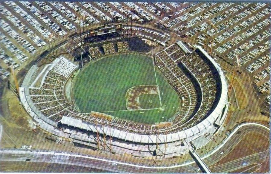 The ballpark as it looked shortly after opening in 1960.