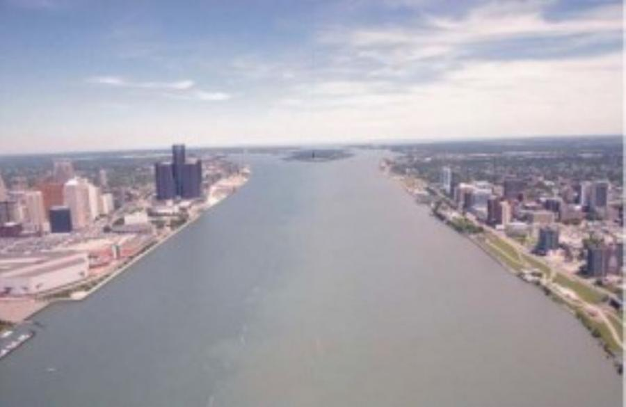 The proposed New International Trade Crossing (NITC) would feature a six-lane bridge over the Detroit River between Detroit and Windsor.