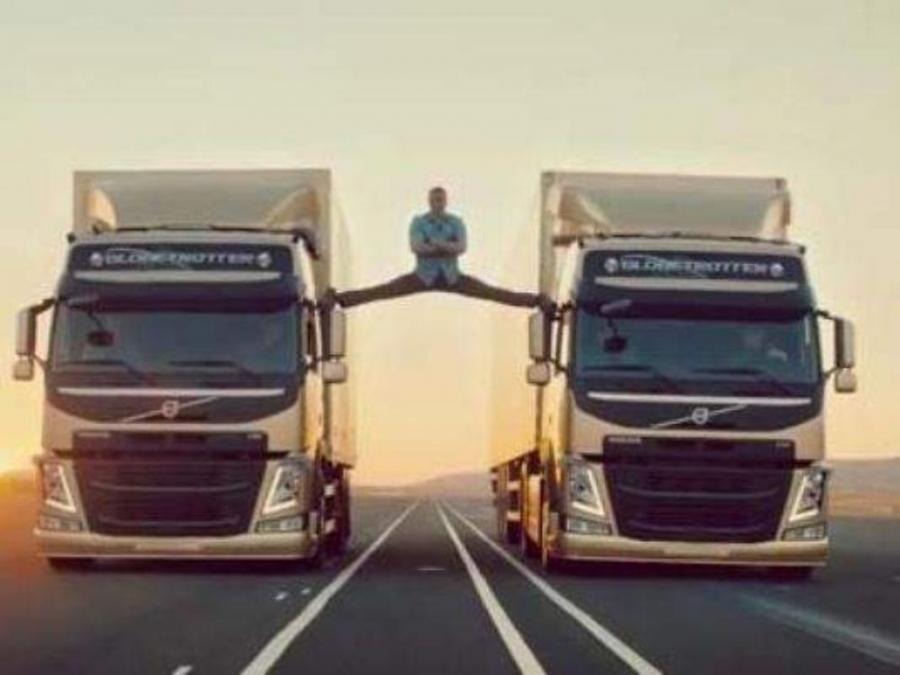 A new commercial from Volvo Trucks featuring Jean Claude Van Damme has become an internet sensation overnight.