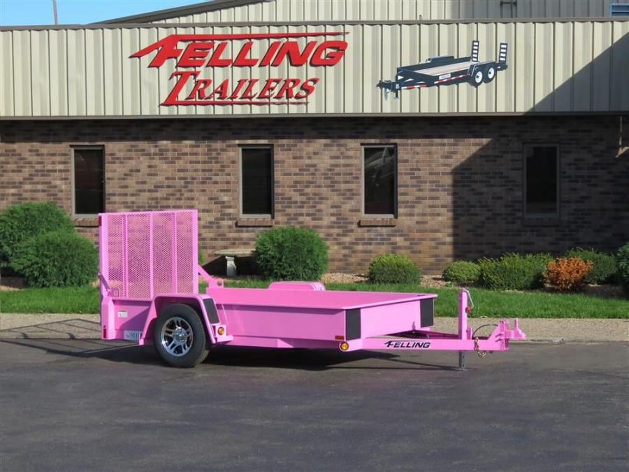 Felling Trailers is implementing its first online auction of a FT-3 drop deck utility trailer and wants to bring awareness to the early detection of breast cancer.