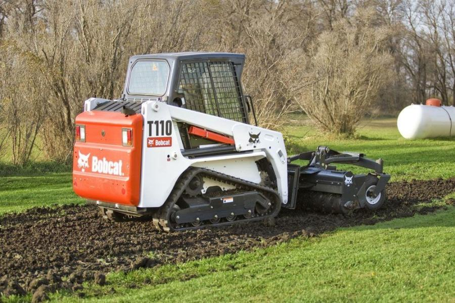 Typical applications that benefit from speed management include trenching, asphalt planing and sawing, soil compaction and box blade operation.