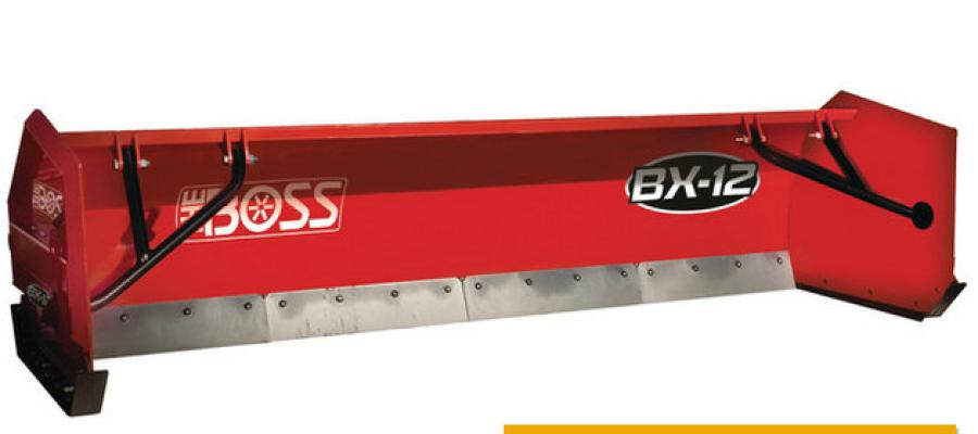 Boss Snowplow has introduced the BX-12 Box Plow.