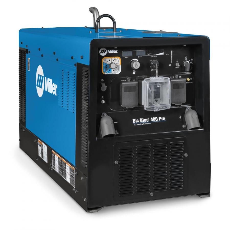 Offering Stick, TIG, MIG, FCAW and CAC-A processes, the Big Blue Eco Pro reduces fuel use up to 25 percent and is 44-percent smaller/41-percent lighter than other models with similar output, according to the manufacturer.