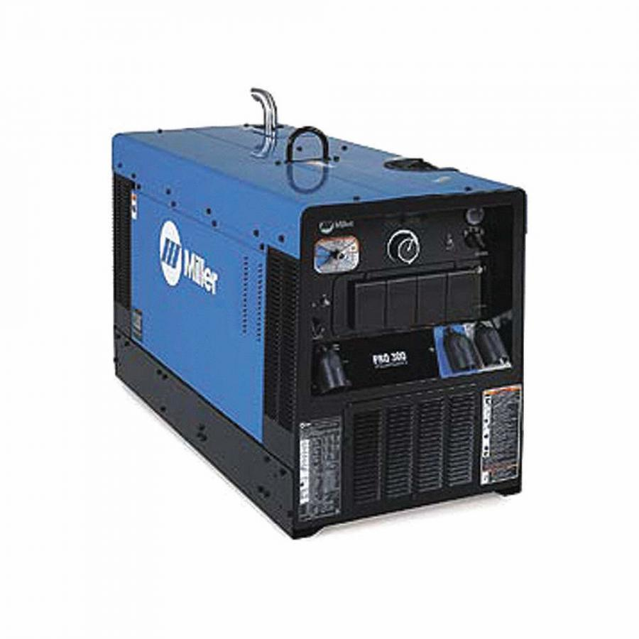 """As with all Big Blue models, the Big Blue Pro 300's circuit board is protected by Miller's """"Vault"""", a hermetically sealed aluminum case that is impenetrable to dust, salt and moisture, according to the manufacturer."""