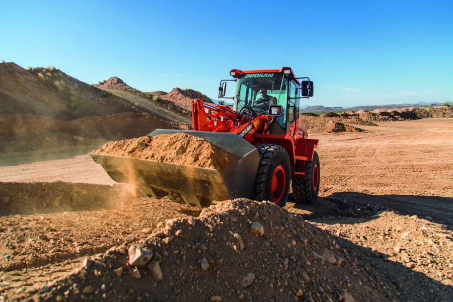 "The ""dash-5"" wheel loaders replace the ""dash-3"" models, transitioning from an interim Tier IV to Tier IV-compliant diesel engine."