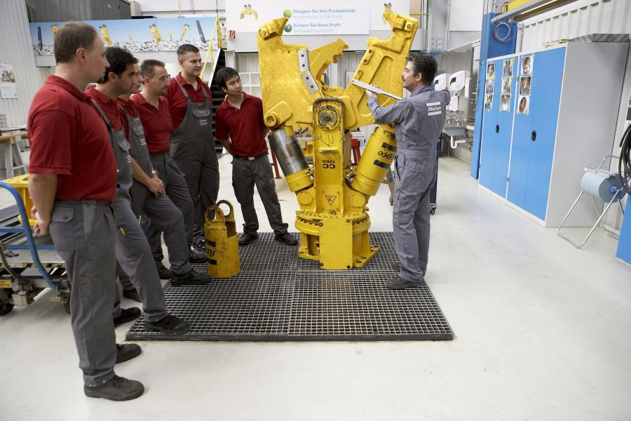 Atlas Copco Construction Equipment offers dealers and rental centers a service training program to enhance technician speed and quality of work.