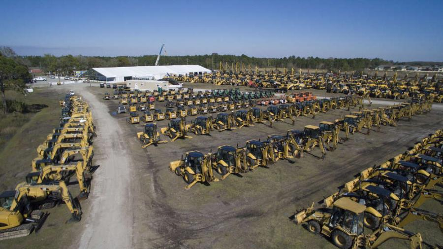 Each year, tens of thousands of bidders from all over the United States and the world descend on Florida to look for bargains while stocking up their equipment fleets.