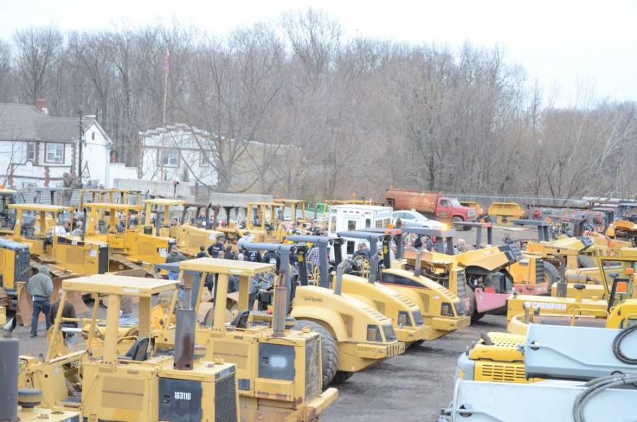 A wide selection of equipment went on the block during the J.G. Cochran auction in New Castle, Del.