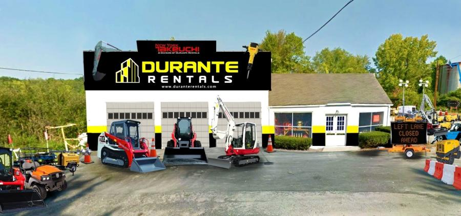 Durante Rental's newest location is in the town of Kent at 333 Route 52, Carmel, N.Y.