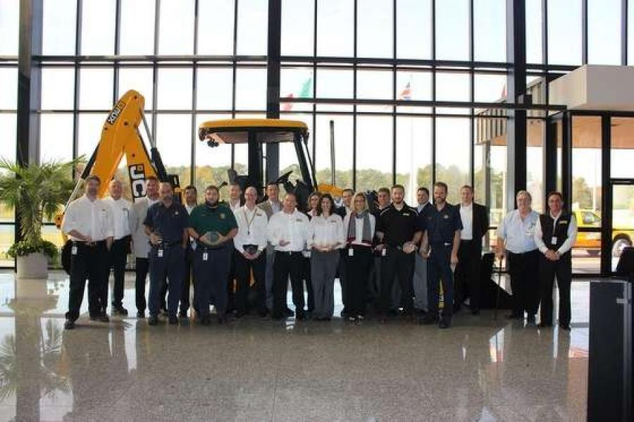On Dec. 16, 2015, JCB North America recognized numerous employees for their years of service and their outstanding accomplishments.