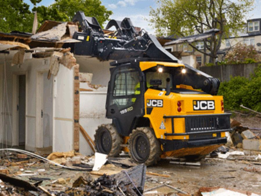 JCB's new demolition package equips JCB skid steers with the additional durability and safety features required to meet the increasingly rigorous demands of the demolition industry.