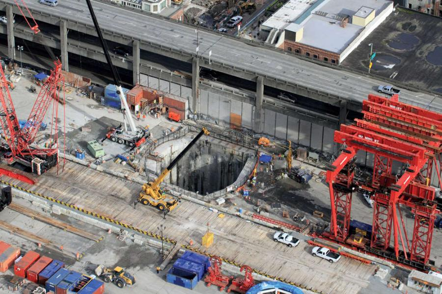 Bertha, the massive drill long stuck under Seattle's waterfront, is back to work.