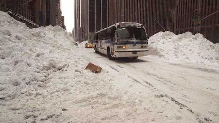 Image courtesy of ABC7NY.  Every city along the northeast megalopolis, from Washington to Boston, received between 17 to 30 inches of snow.