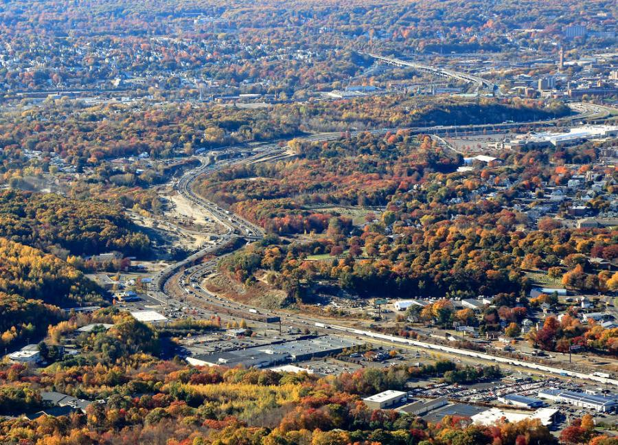 "The project will realign the roadway near Harpers Ferry Road to eliminate the ""S"" curve, reconfigure interchange ramps and relocate the Mad River and Beaver Pond Brook."