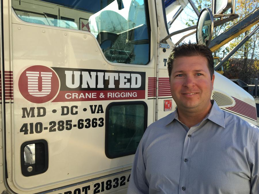 Joe Mirabile Jr. will have direct responsibility for sales and operations and he will be a key figure in seeking new opportunities for growth at United Crane & Rigging.