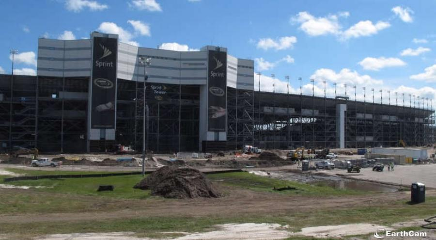 From September 2013 to January 2016, NASCAR and racing fans were able to keep track of DAYTONA Rising – a complete redesign of the iconic Daytona International Speedway – with EarthCam's construction cameras.