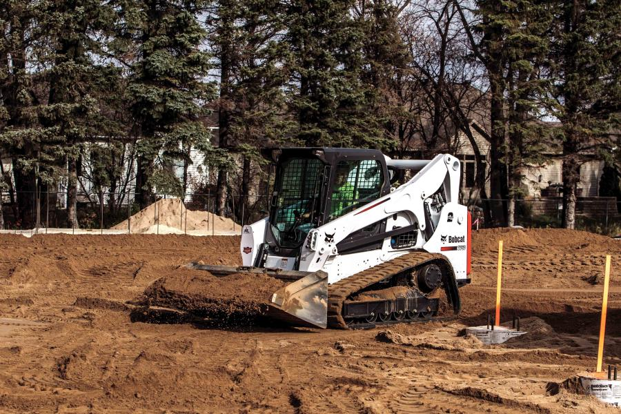 New solid-mount and optional roller suspension system undercarriages are available for select Bobcat compact track loaders.