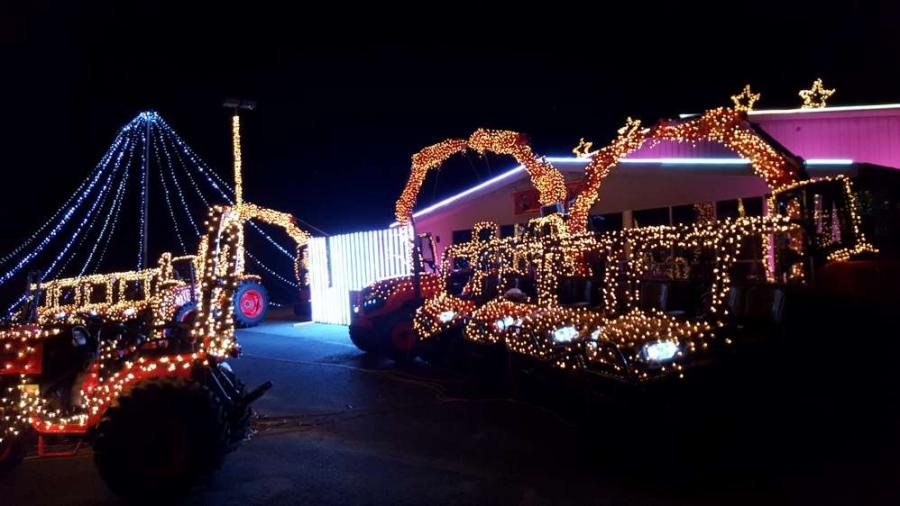 For its third year in a row Messick Farm Equipment held a successful fundraising event with its Christmas light show in Elizabethtown, Pa.