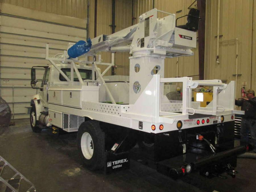 Terex has developed a new process to assist customers with spec'ing utility trucks, including aerial devices and digger derricks, that complies with bid specs, costs less to purchase and takes less time to produce.