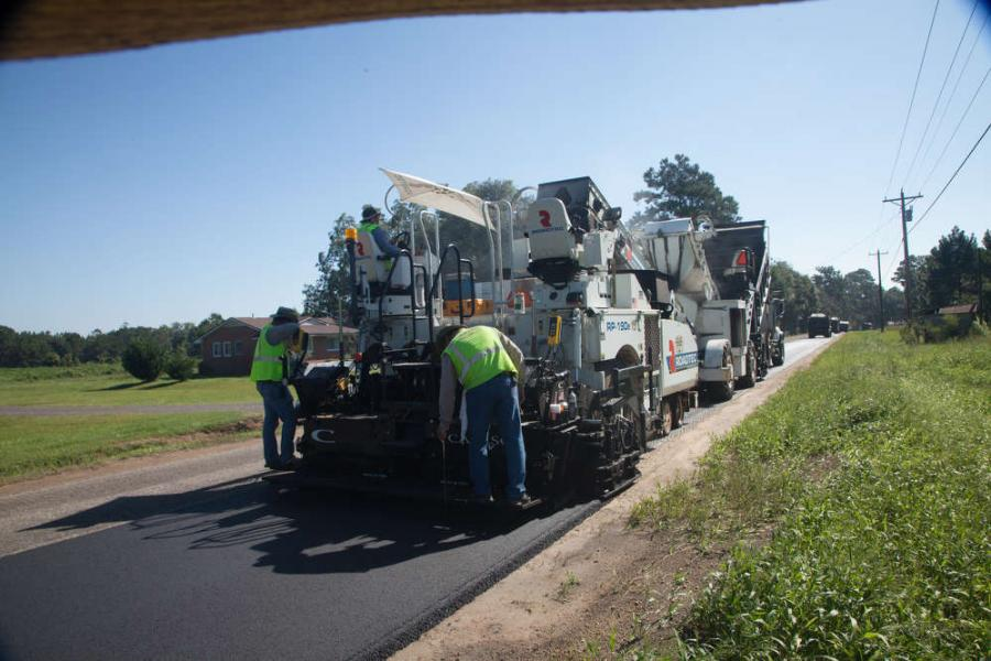 "The Peavy and Son Construction I-10 work received FDOT's ""Smoothest Pavement of the Year Award"" in the Limited Access Roadway category for 2014."
