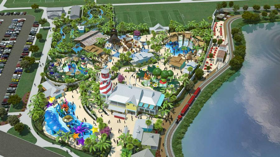 "Construction charity organization AGC Charities Inc. is partnering with local construction firms to help build ""Morgan's Inspiration Island,"" a new handicap-accessible water park."