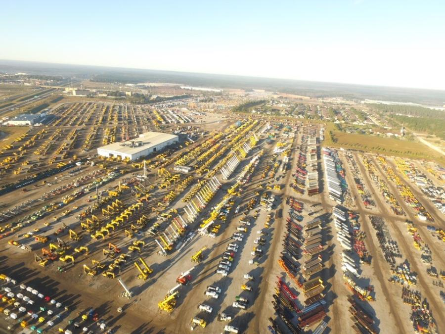 It's not often you see more than10,000 equipment items and trucks for sale in one place.