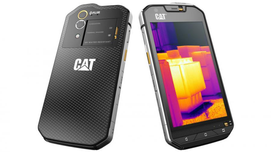 The latest Cat smartphone has pulled into its relatively sleek camera case the industry-leading FLIR technology that shows heat in total darkness.