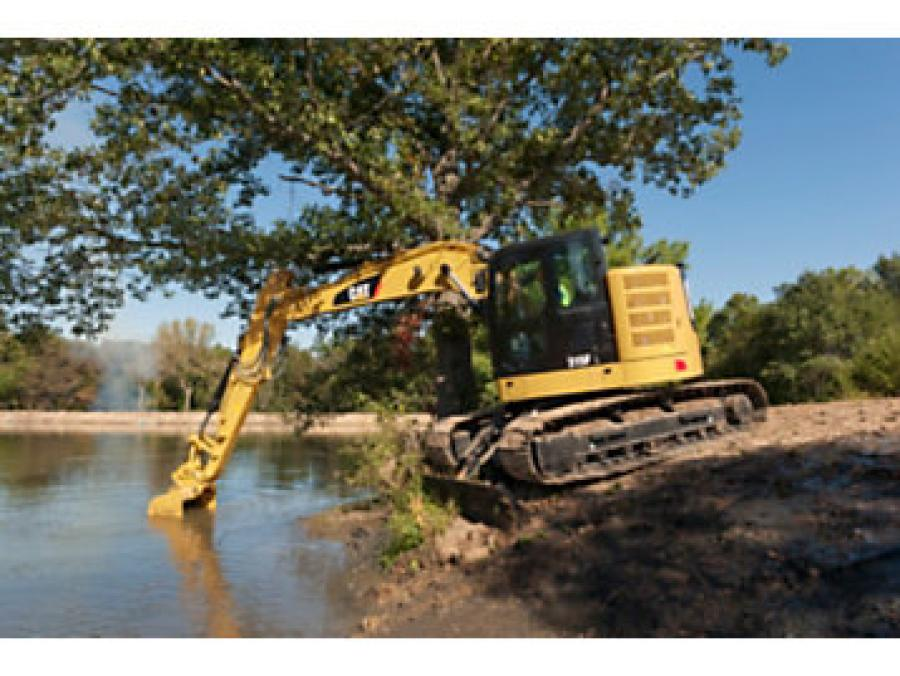 The introduction of the 313F, 315F, 316F, and 318F completes Caterpillar's launch of its U.S. EPA Tier 4 Final/EU Stage IV 11- to 90-ton tracked excavator family.