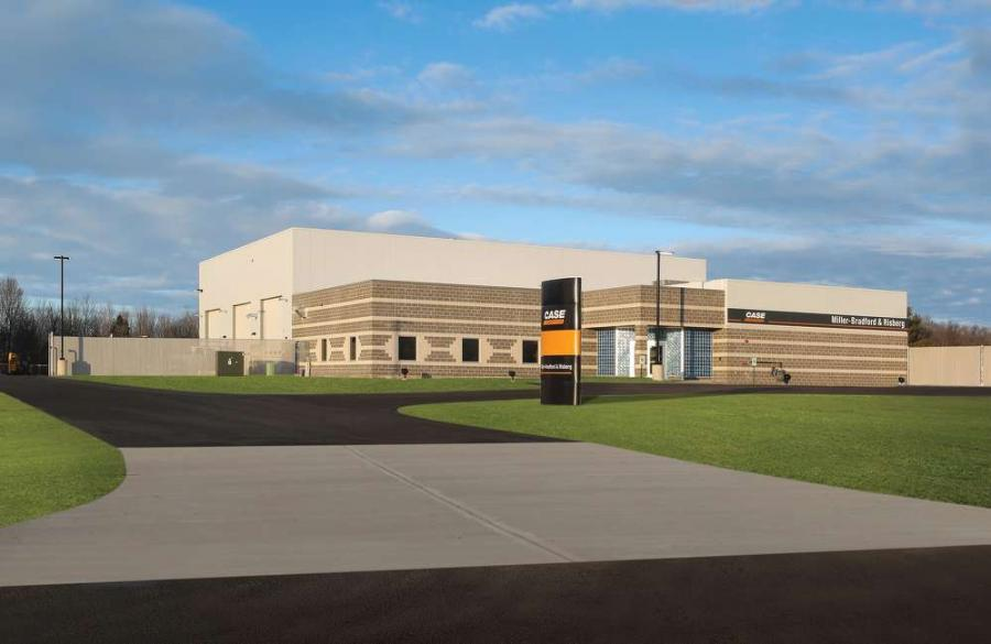 The modern structure was built in one year and is an upgrade over the Abbotsford facility with more service bays, state-of-the-art tools, and overhead cranes for repairing larger machines.