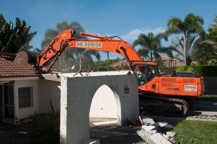 Once the Florida economy improved, Honc Destruction was right back to demolishing residential structures for people who found the wrong house on the right location.