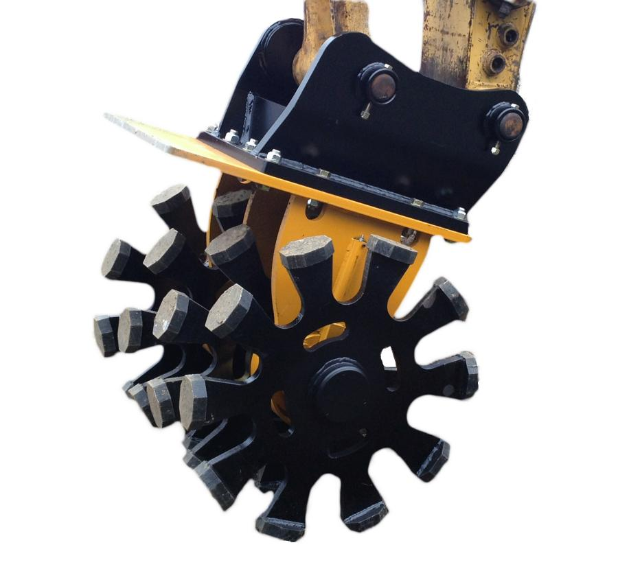 Indeco North America launched its IHW Series of boom-mounted wheel compaction devices.