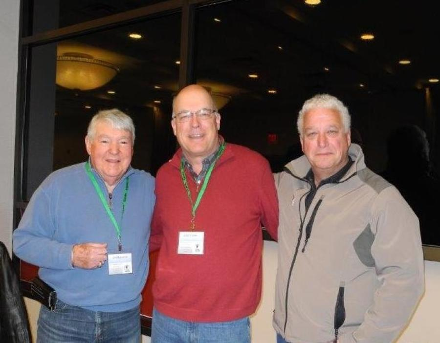 (L-R): Charter Members Jim Balsarini, Scott Forke, and Mike Hunyady.