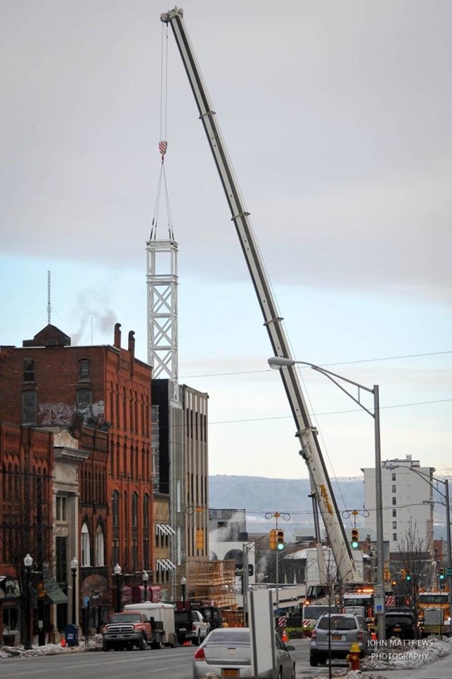 The Utica Bank clock tower.John Matthews Photography photo
