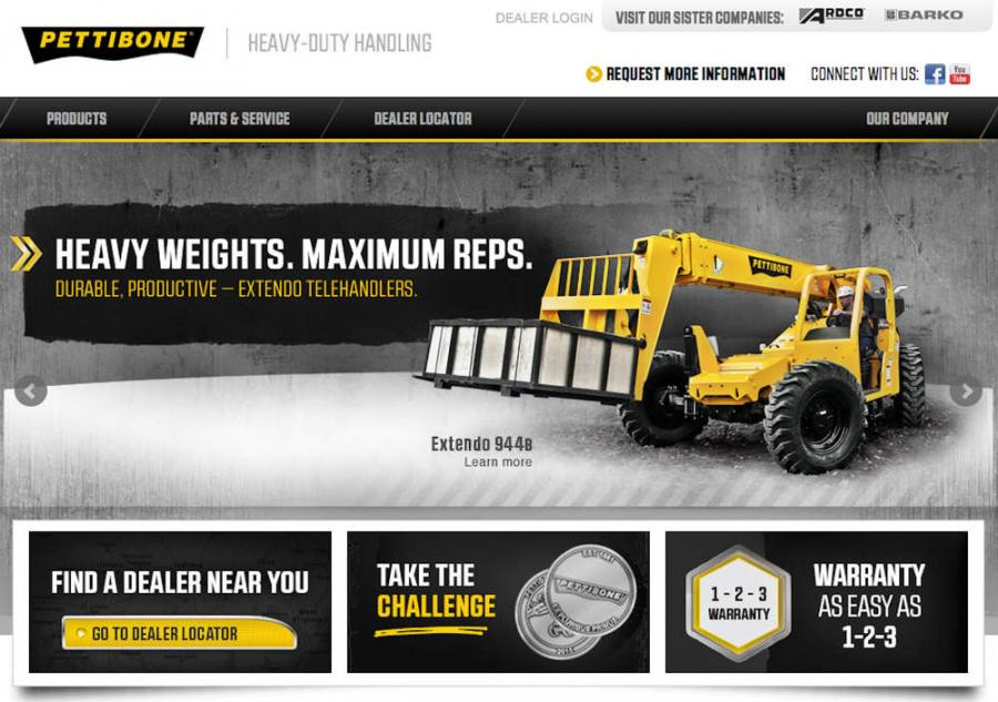 Pettibone/Traverse announced the launch of its new Web site at 