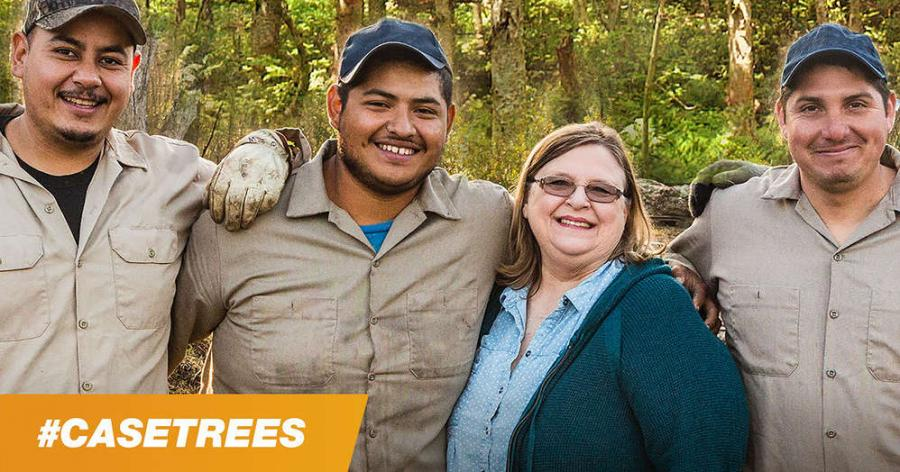 CASE will plant a tree for every landscaping company that uploads a crew photo to the CASE Facebook page or Instagram with the #CASETrees hashtag in honor of Earth Day.