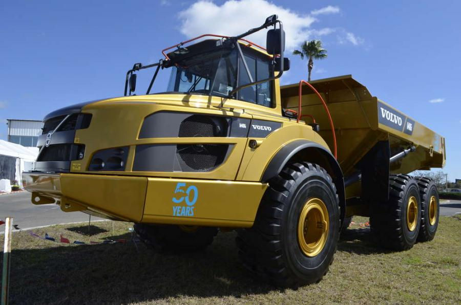 """Gravel Charlie"" quickly became a construction industry icon and operators' favorite, with more than 70,000 articulated haulers produced to date."