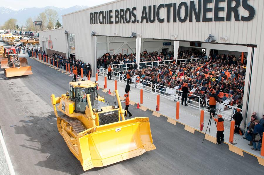 It's one of the best selections of heavy equipment and trucks to ever go up for auction in Grande Prairie.