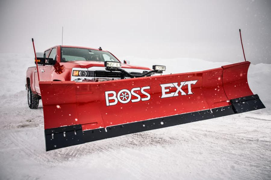The EXT quickly adapts to all plowing needs, expanding from 8 to 10 feet and back, all by the touch of a controller.