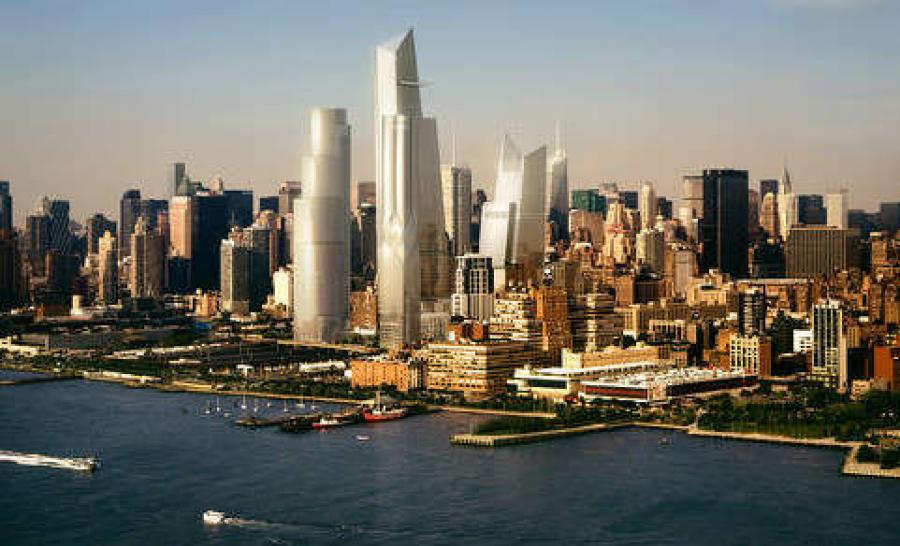 The website Real Estate Weekly is reporting that the value of New York City construction starts skyrocketed in 2015.