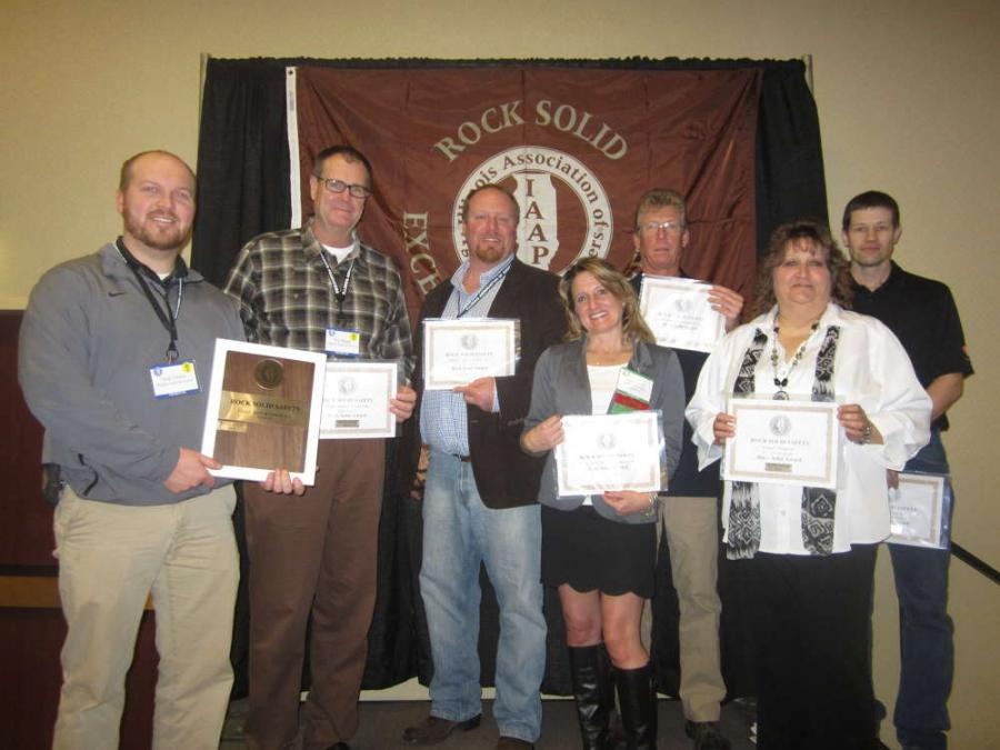 The Association awarded a select group of its members with its Rock Solid Safety Awards at its 48th annual convention.