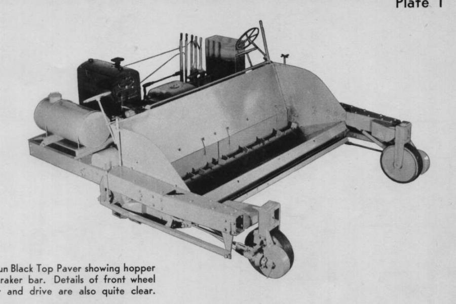 A 100 Year History Of Paving Compaction Milling Iron