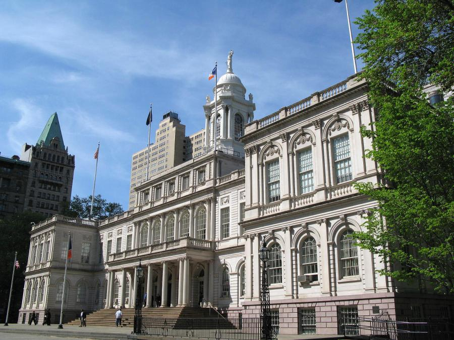 The New York Post is reporting that a construction firm involved in the renovation of City Hall claims it is owed $12,570,174 for extra work