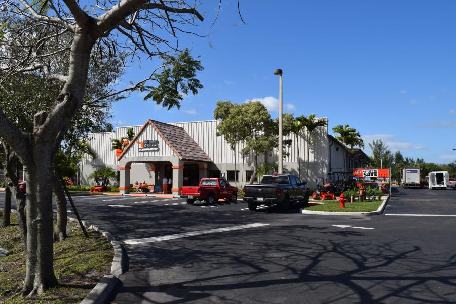 Florida Coast Equipment recently moved in to its new facility in West Palm Beach and celebrated with an open house.