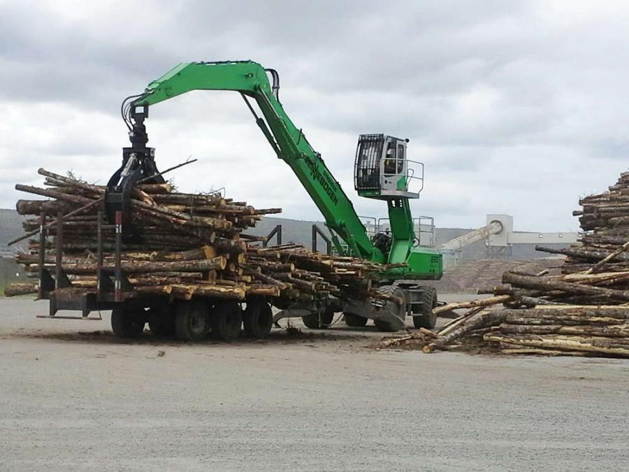 One of South America's leading specialists in forestry equipment has been named to represent the full line of Sennebogen purpose-built material handlers in Uruguay.