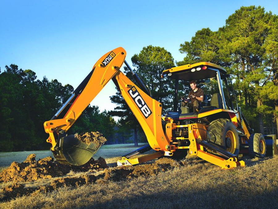JCB's popular entry-level 3CX, a 14' full size backhoe loader built in Savannah, GA, is now available with pilot controls.